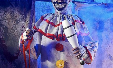 New For 2019: Twisty The Clown From Spirit Halloween