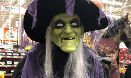 New For 2019: Home Accents Witch From Home Depot