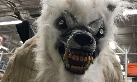 New For 2019: White Werewolf From Home Depot