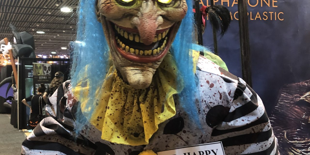 New For 2020: Mr Happy Halloween Animatronic