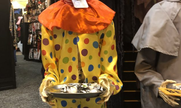 Animated Clown Halloween Prop From Morbid Enterprises