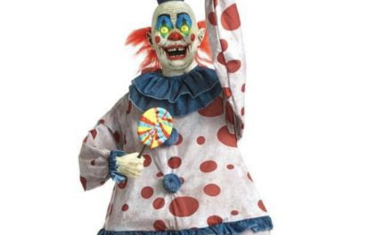 New For 2020: Life-Sized Animated Old Time Clown From Home Depot