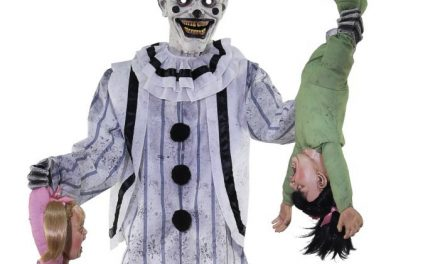 New For 2020: 7 Ft Clowning Around Animatronic From Spirit Halloween