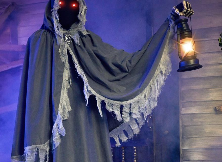 New For 2020: The Gatekeeper Animatronic From Spirit Halloween