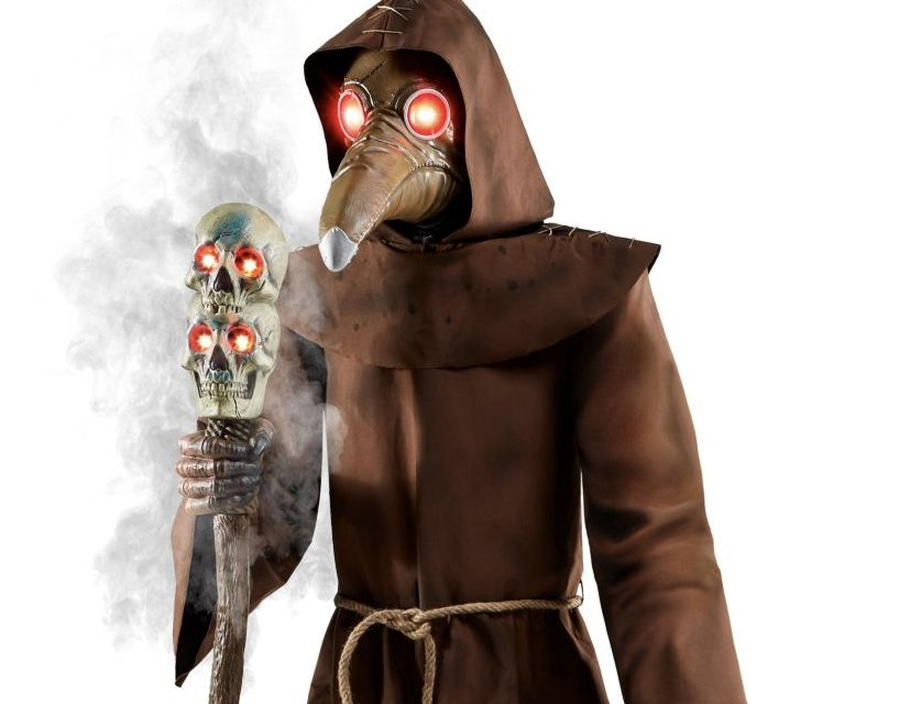 New For 2020: Plague Doctor Animatronic From Spirit Halloween