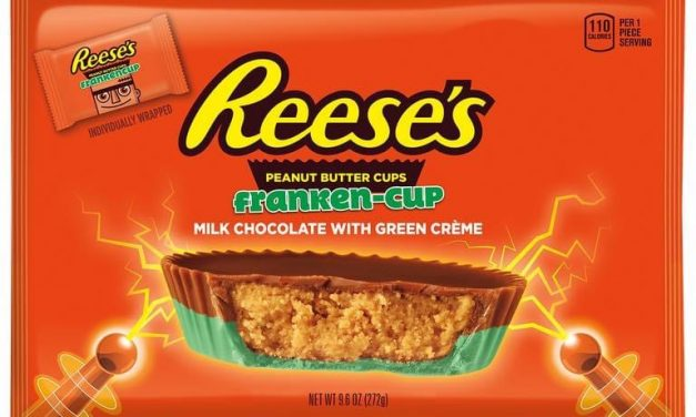 Reese's Announces Peanut Butter Cups With Green Creme