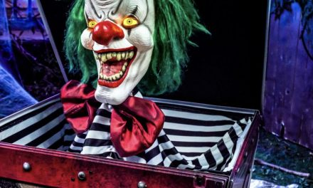 New For 2020: Fright in the Box Animatronic From Spirit Halloween