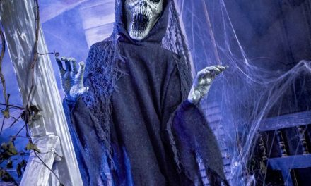 New For 2020: The Hauntress Animatronic From Spirit Halloween