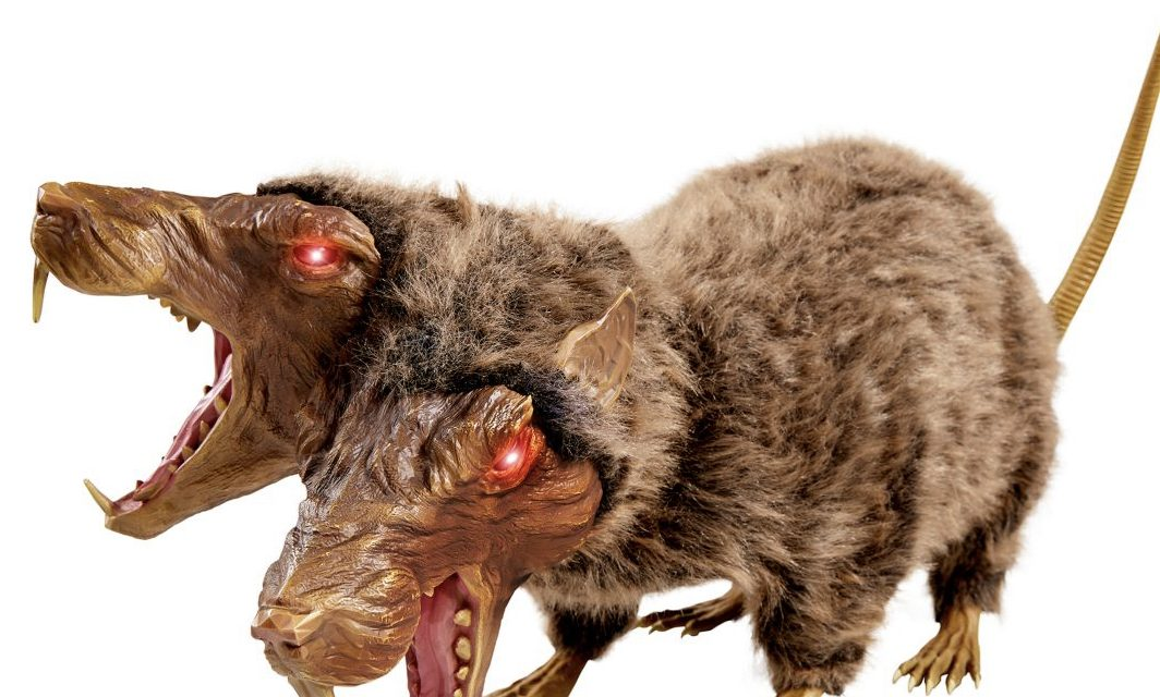 New For 2020: 16 Inch Sewer Varmint Animatronic From Spirit Halloween