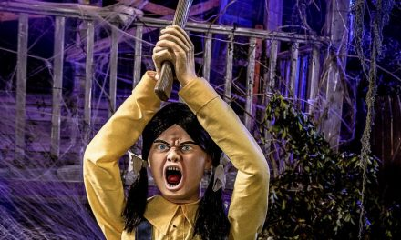 New For 2020: Ellie Hatchet Animatronic From Spirit Halloween