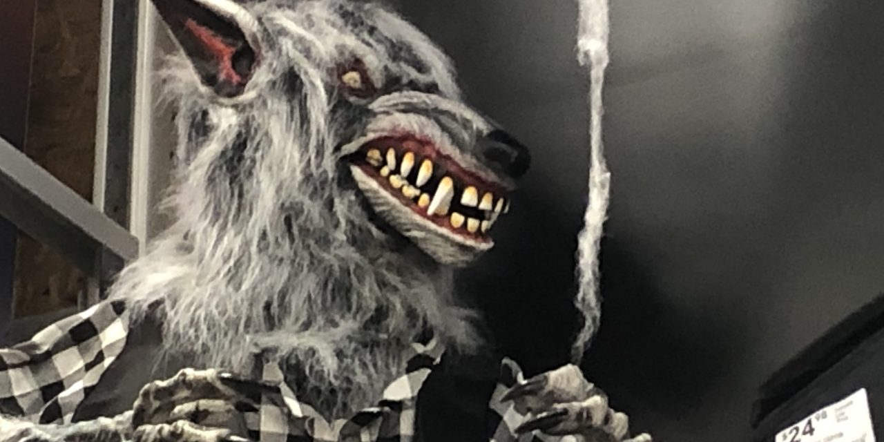 Sorta New For 2020: Holiday Living Werewolf From Lowes