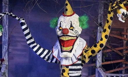 New For 2020: Cuddles The Clown Form Spirit Halloween