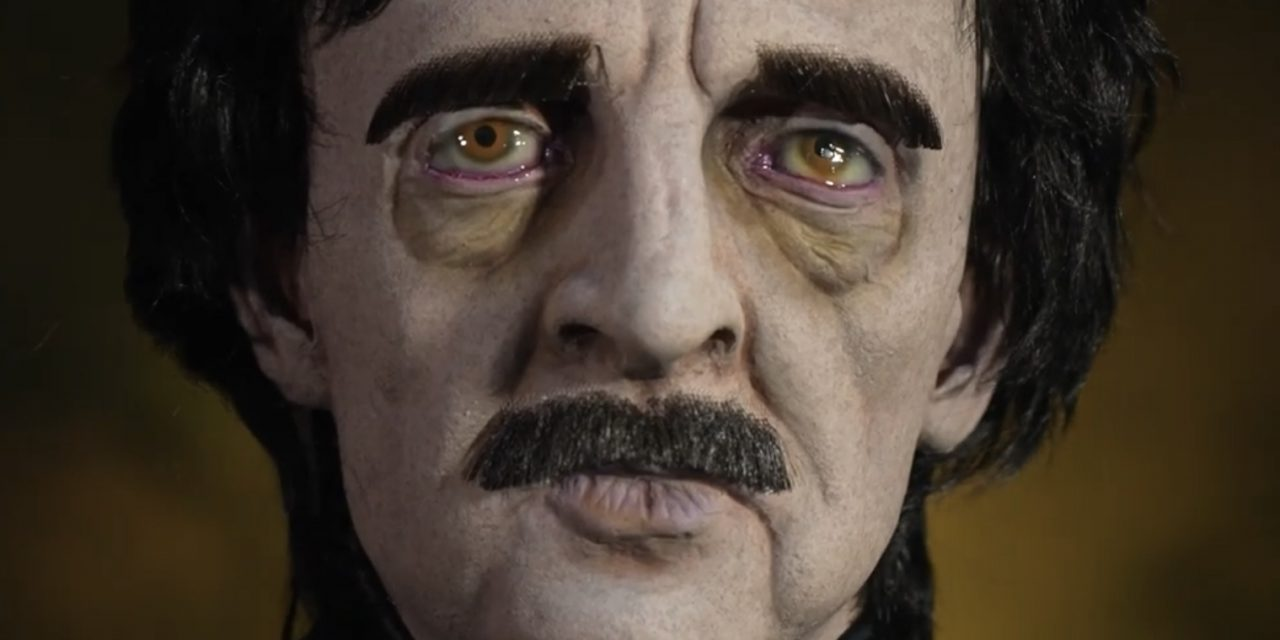 New For 2021: Edgar Allan Poe Halloween Prop From Distortions Unlimited