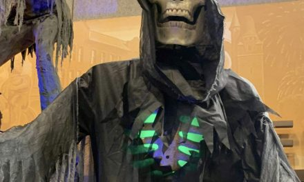 New For 2021: Towering Reaper With Digital Eyes From Morris Costumes